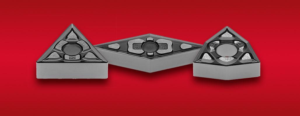 Negatív esztergalapkák rozsdamentes acélok általános megmunkálásához