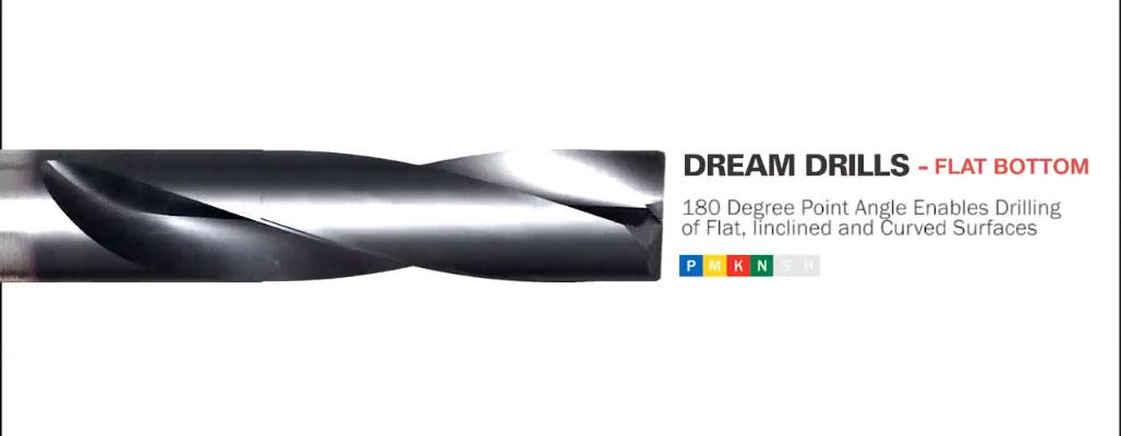 Dream Drills Flat Bottom keményfém fúró