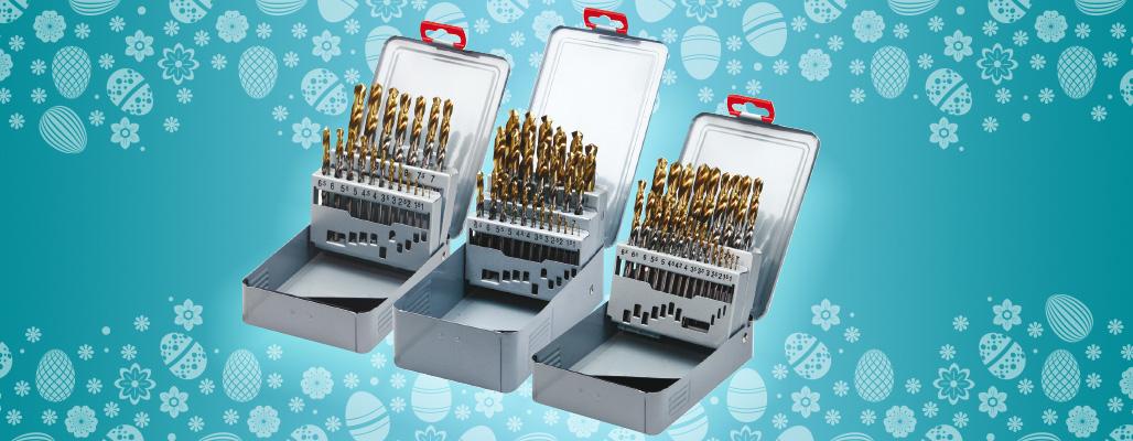 Gold-P HSS-E fúrókészletek