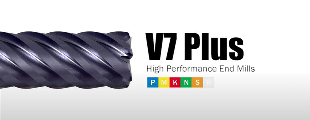 V7 Plus 4 élű keményfém maró