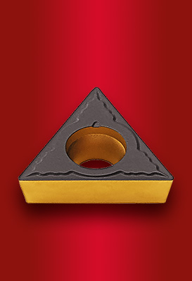 Pozitív esztergalapkák acélok általános megmunkálásához