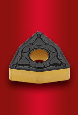 Negatív esztergalapkák acélok általános megmunkálásához