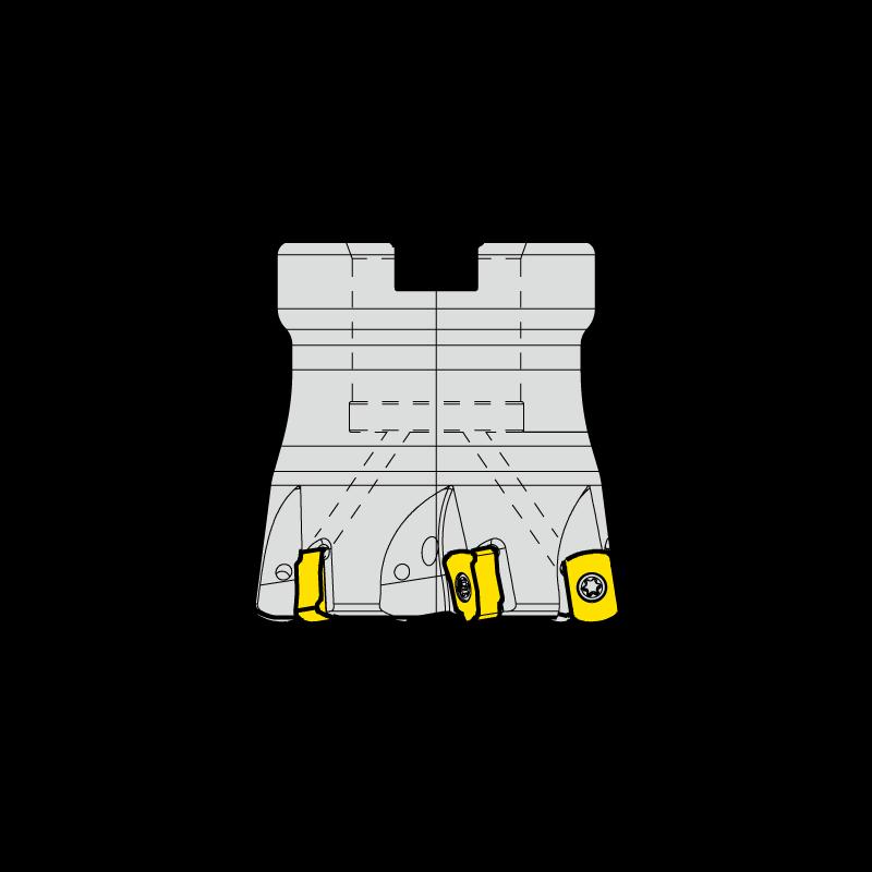 ENMX06 marólapka és marófej készlet, feltűzhető