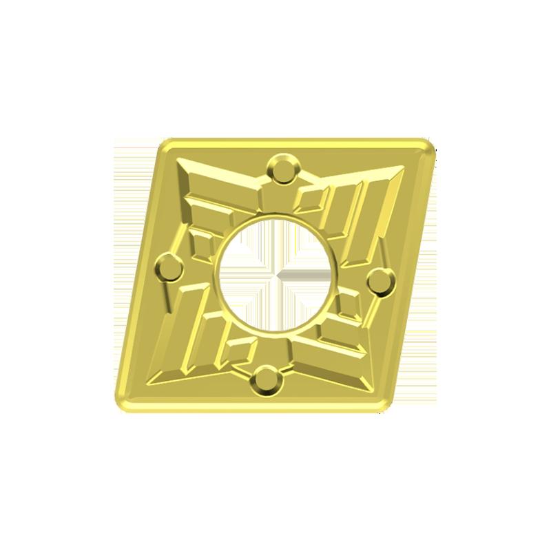 CNMG esztergalapka, 4 élű, MM forgácstörővel